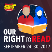 Banned Books Week 2017 logo