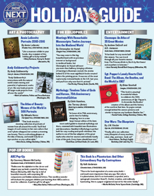 Indie Next List Holiday Gift Guide flier