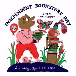 Independent Bookstore Day 2018 logo