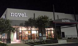 Novel bookstore storefront