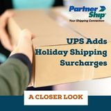PartnerShip holiday shipping update