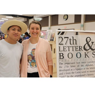 27th Letter Books owners Drew and Erin Pineda