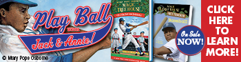 A Big Day for Baseball, Magic Tree House