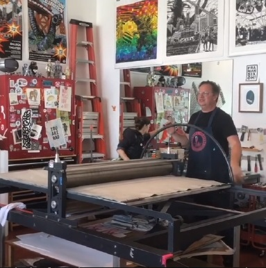 3 fish studios printmaking