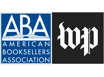 American Booksellers Association and Washington Post logos