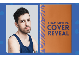 Author Adam Silvera with book cover to be revealed July 10