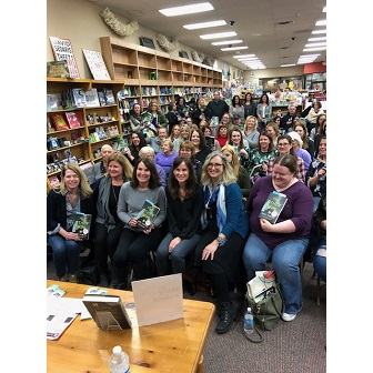 A full house for Mary Kubica's event at Anderson's Bookshop
