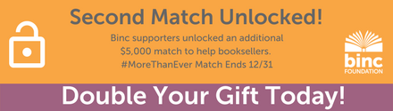 Binc year-end ad, double your gift