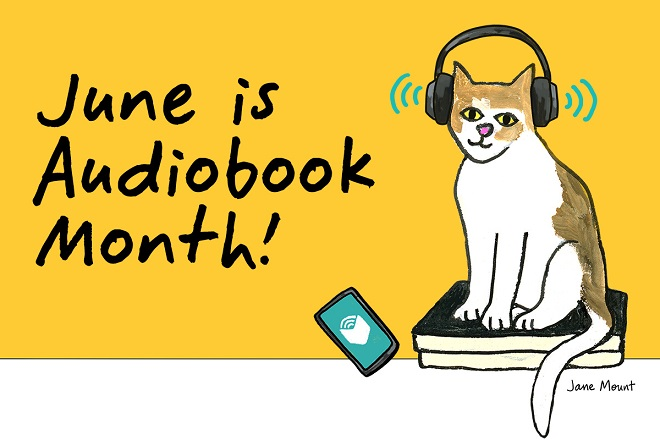 Libro.fm audiobook month cat