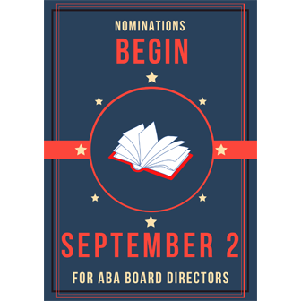 Nominations Begin September 2 for Board Directors