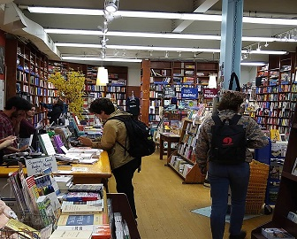A look inside Book Culture in New York City