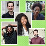 Jacqueline Woodson, Nic Stone, Jason Reynolds, Nick Offerman, and David Levithan