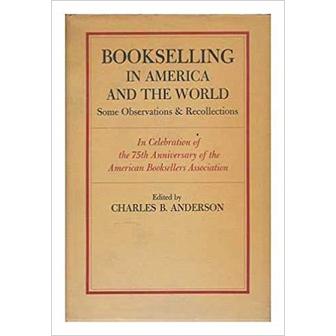 Bookselling in America and the World cover