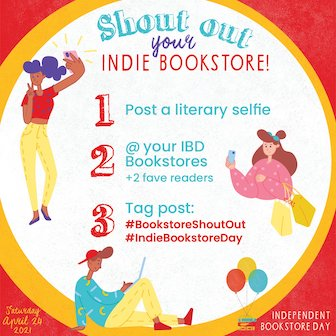 Bookstore Shout Out step by step