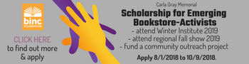Carla Gray Scholarship for Emerging Bookstore-Activists
