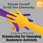 Binc/Carla Gray scholarship ad