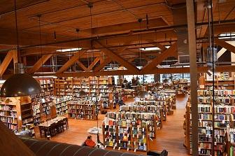 A look inside Elliott Bay Book Company.