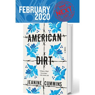 February Indie Next List flier featuring American Dirt