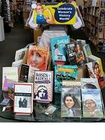 Flintridge Books Women's History Month display