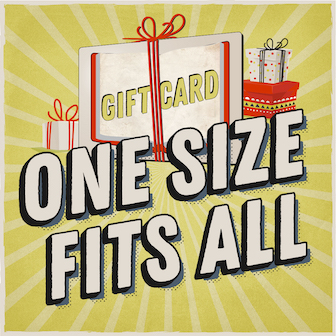 One Size Fits All: Gift Card
