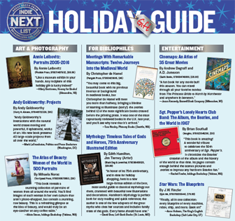 2017 Holiday Indie Next List Gift Guide