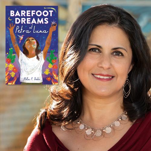 Alda P. Dobbs, author of Barefoot Dreams of Petra Luna
