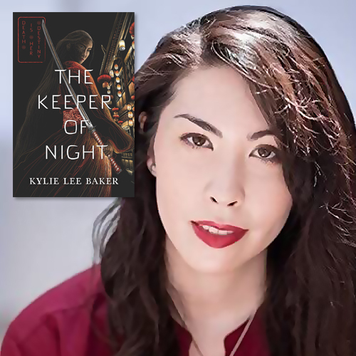 Kylie Lee Baker, author of The Keeper of Night