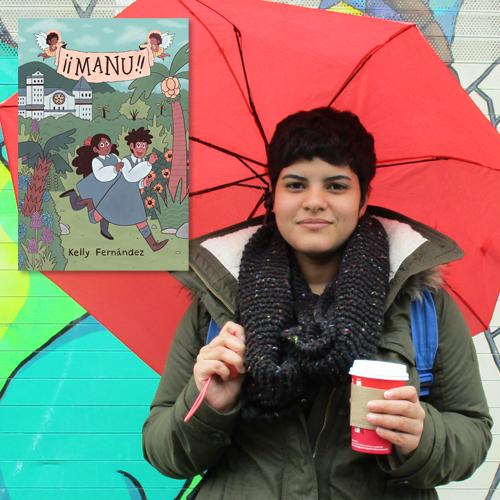 Kelly Fernández, author of Manu