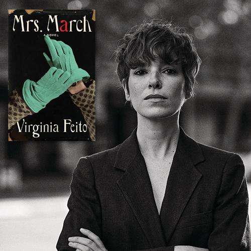 Virginia Feito, author of Mrs. March