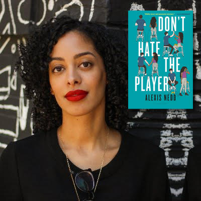 Don't Hate the Player cover image with author Alexis Nedd