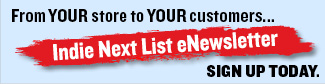Indie Next List eNewsletter ad