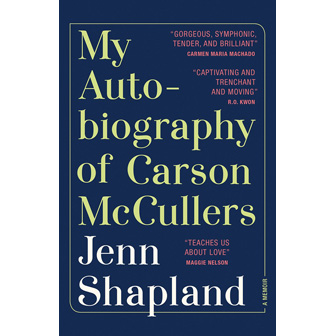 My Autobiography of Carson McCullers cover