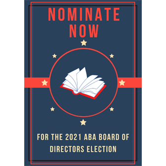 Nominate Now for the ABA Board of Directors Election