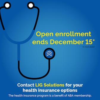 Open enrollment ends December 15