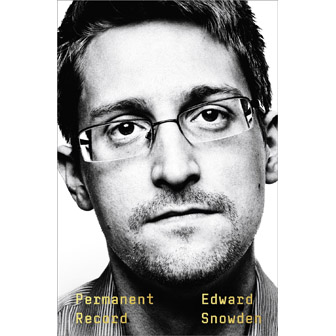 "Edward Snowden's ""Permanent Record"" book jacket"