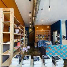 The interior of Rofhiwa Books