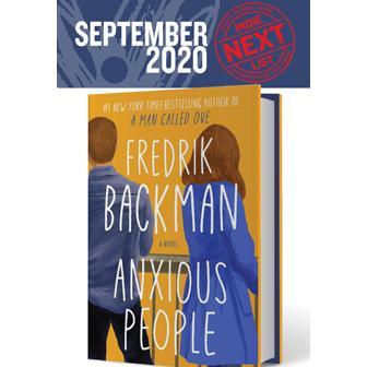 September 2020 Indie Next List flier