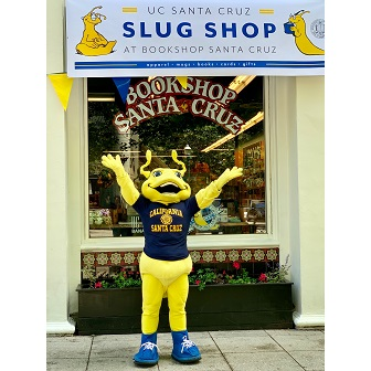 UC Santa Cruz's mascot, Sammy the Slug.