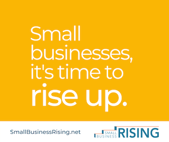 Small businesses, it's time to rise up