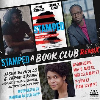 Stamped Book Club flier