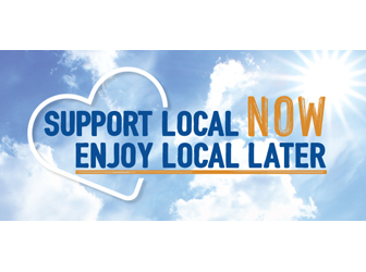 Support local now, enjoy local later