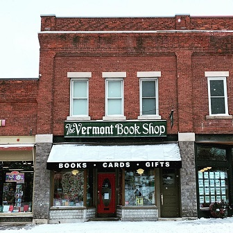 Vermont Book Shop's storefront