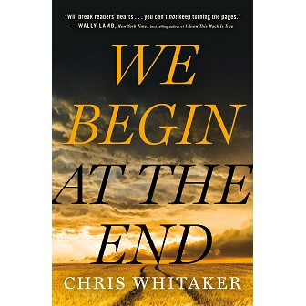 We Begin at the End Cover