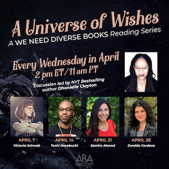 A Universe of Wishes virtual reading series