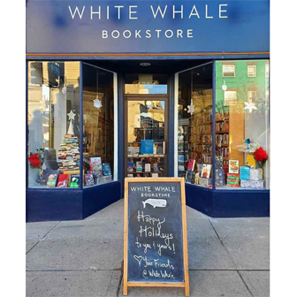 White Whale bookstore storefront