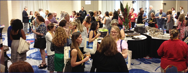 Booksellers gather at an ABA institute