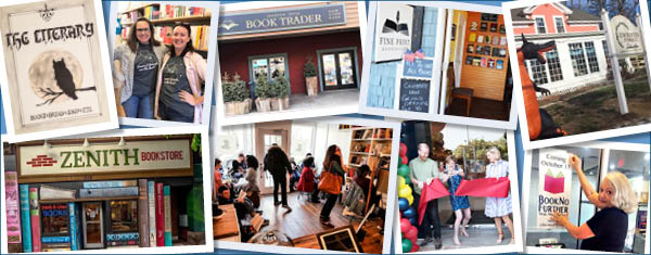 Bookstores opened in 2017 collage