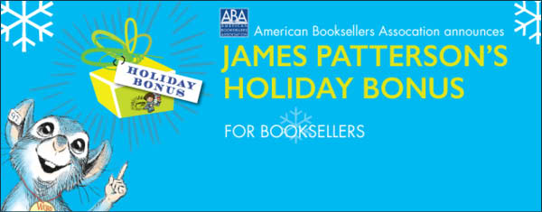 James Patterson bonus program