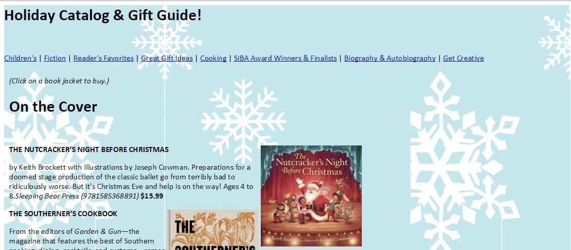 SIBA Holiday Catalog