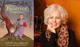 Kate DiCamillo, author of The Beatryce Prophecy
